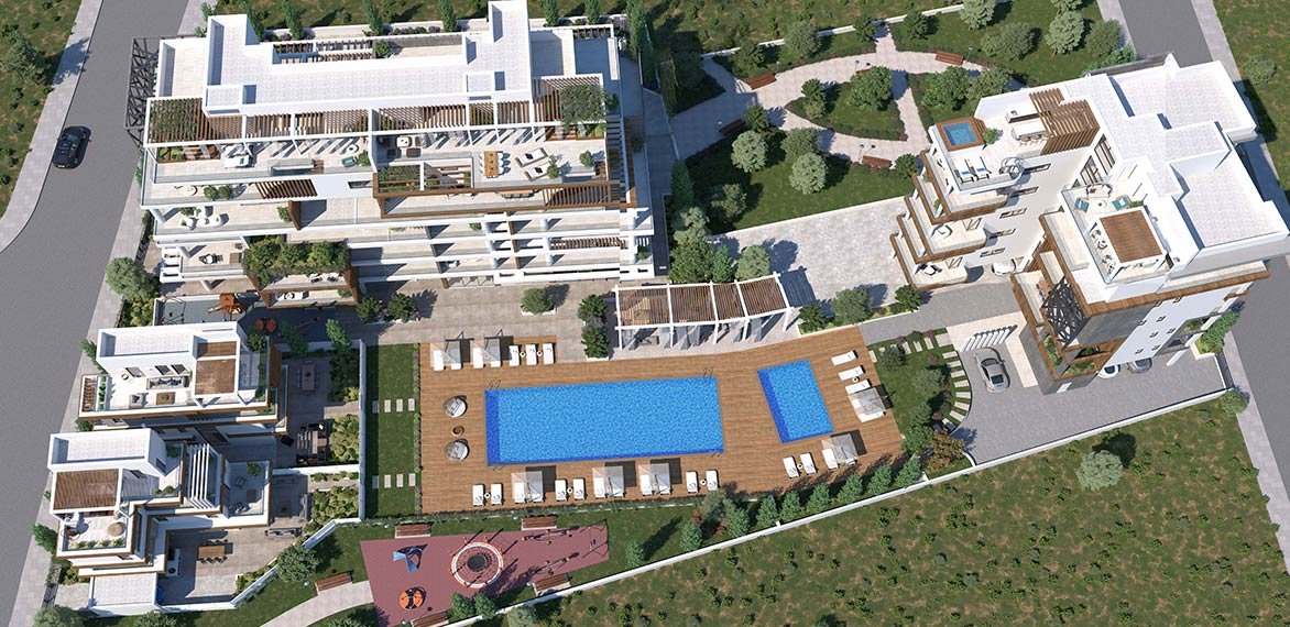 Oasis Residence - Top View